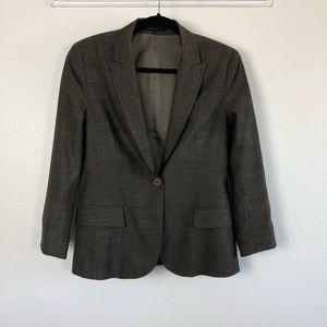 Theory Wool Blend Career Office Blazer Size 8